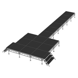 portable adjustable concert T Stage