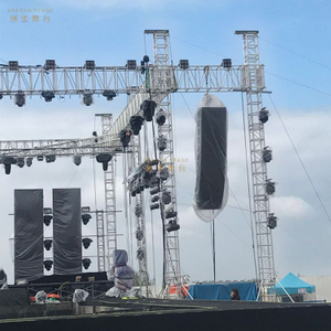Stand Silver Outdoor Event Truss