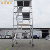 Board Tower Double scaffolding with 45degree ladder