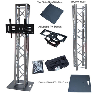 Pole 8.20ft Bands Totem Truss