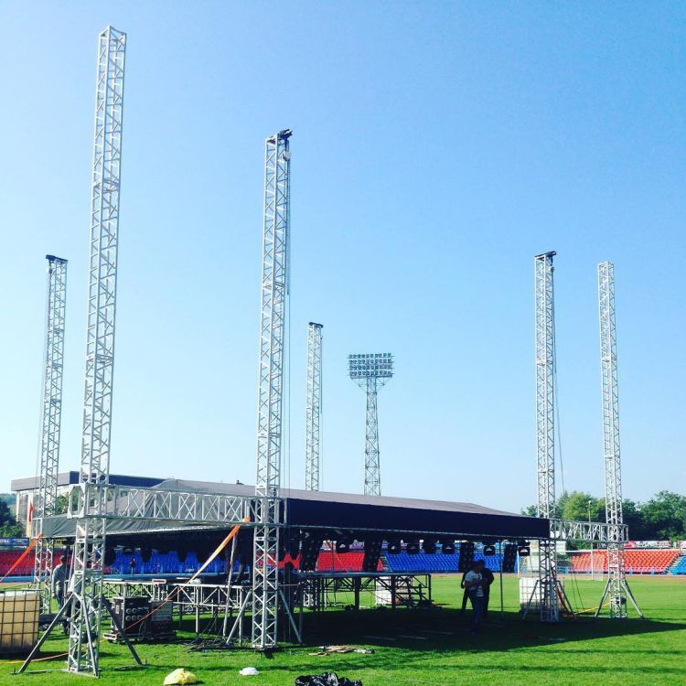 Stage Roof 30 Foot Dj Truss Tower