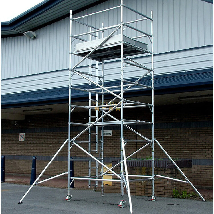 Aluminium Mobile Scaffold Tower for Sale Near Me 1.35x3m 5.22m
