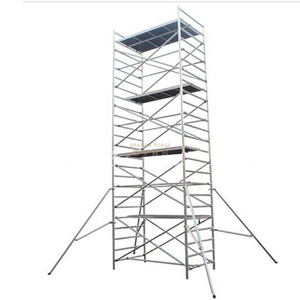 Construction Mobile Double scaffolding with climbing ladder