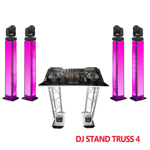 Bands 2m Pole Iluminated Totem Truss with Moving Head