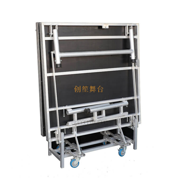 Folding aluminum park Square Stage