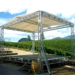 Aluminum Portable Small Stage with Canopy for Sale