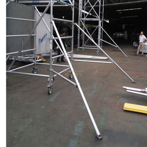 Mobile Platform Single Scaffolding