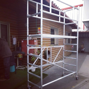 Lightweight Mobile Ladder Foldable scaffolding