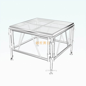 shaped mobile outdoor T Stage