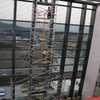 Portable Adjustable Double scaffolding with climbing ladder